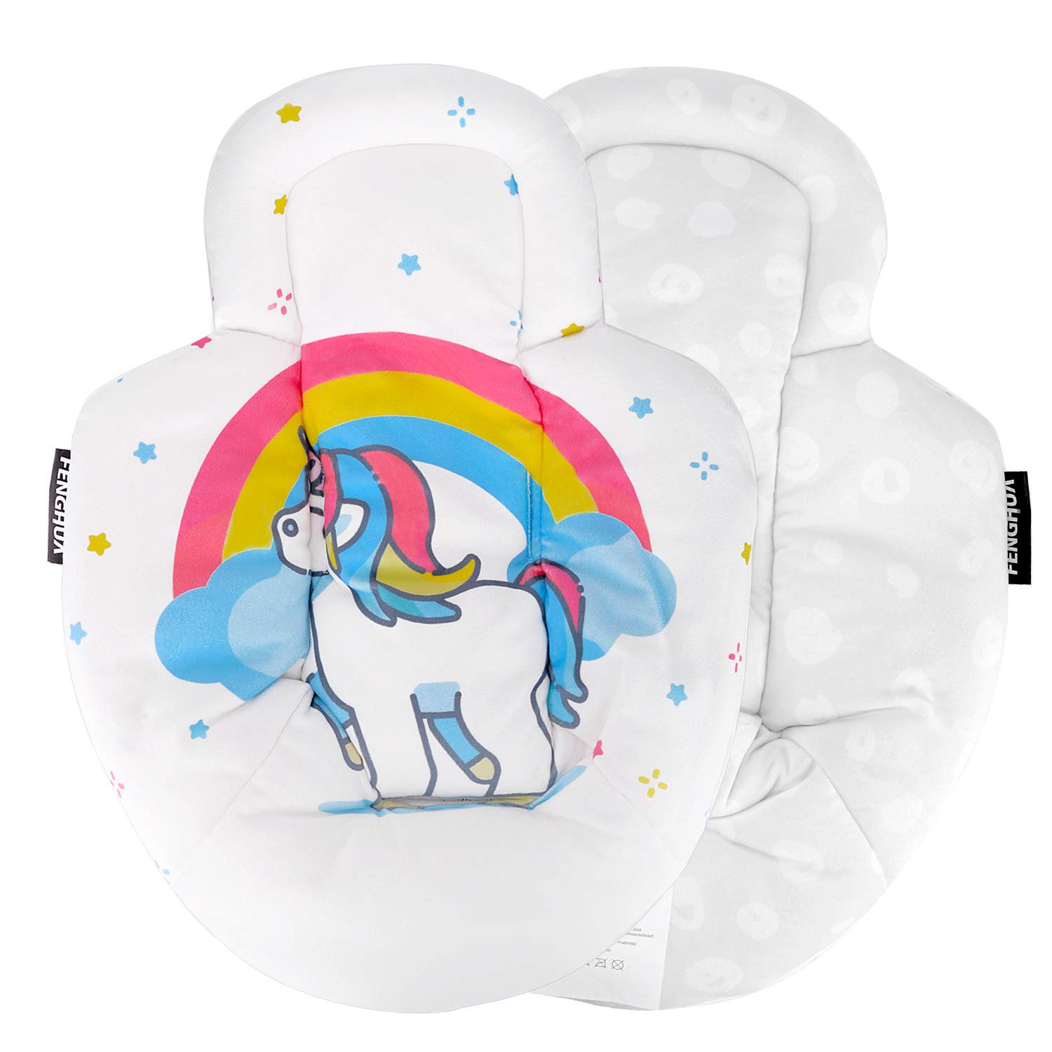 New Reversible Newborn Baby Infant Insert – Suitable for mamaRoo rockaRoo
