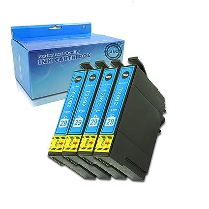 Caidi - Cartuchos de Tinta de Repuesto para Epson Expression Home XP-235 XP-245 XP-247 XP-255 XP-257 XP-332 XP-335 XP-342 XP-345 XP-352 XP-355 XP-432 ...