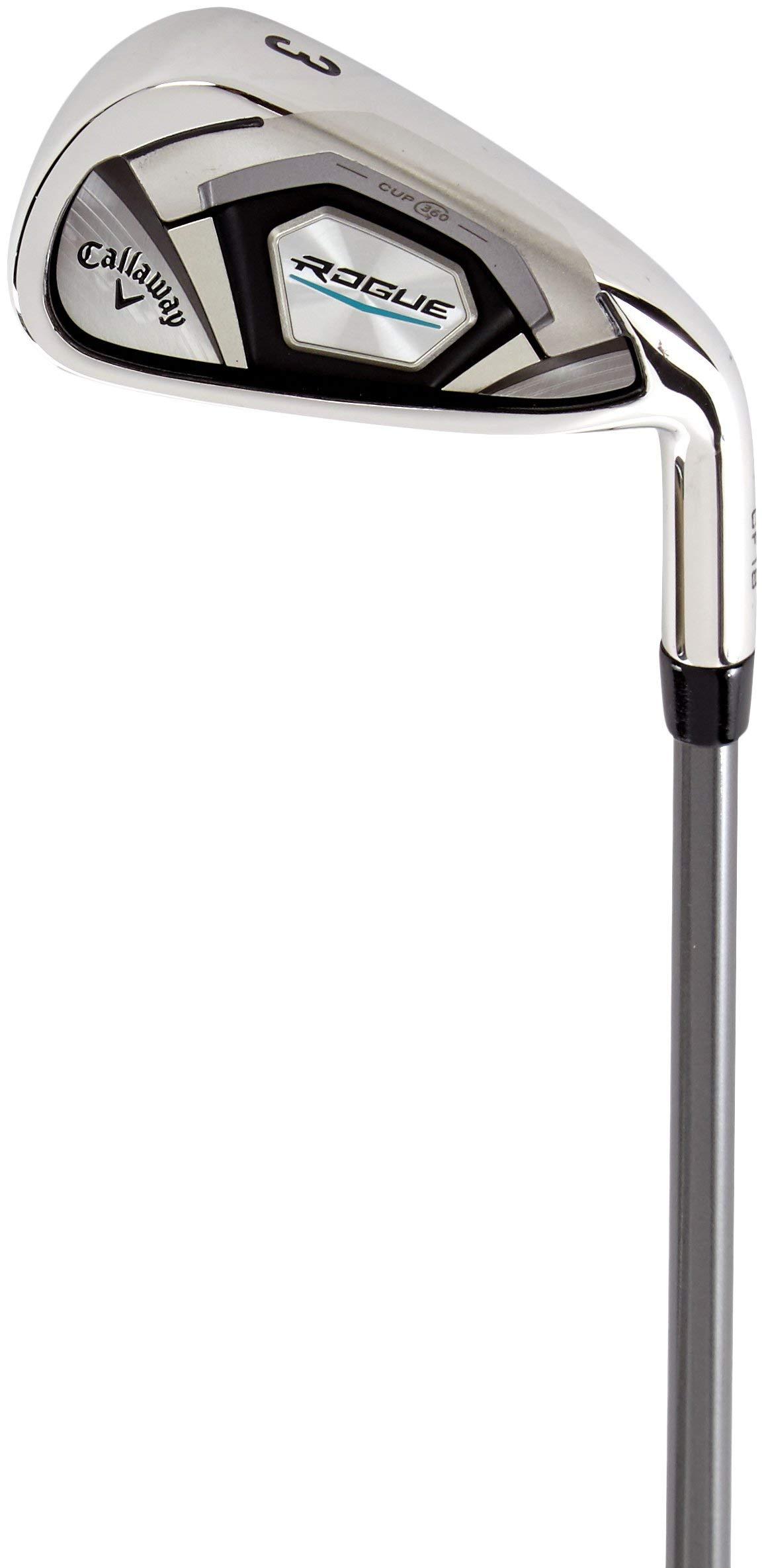 Callaway Rogue 7 Iron, Graphite, Regular (Renewed) by Callaway Golf