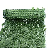 ZENY Faux Ivy Privacy Fence Screen 94'' X 39'' Artificial Hedge Fencing Outdoor Decor (1)