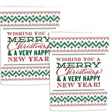 (Set/2) Christmas Prank Card With Confetti Plays Music Until Battery Dies