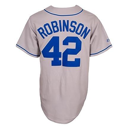 Amazon.com   Jackie Robinson Brooklyn Dodgers Cooperstown Replica ... c23257de51b