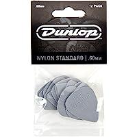 Dunlop Nylon Standard Guitar Pick .60 mm 1 Dozen