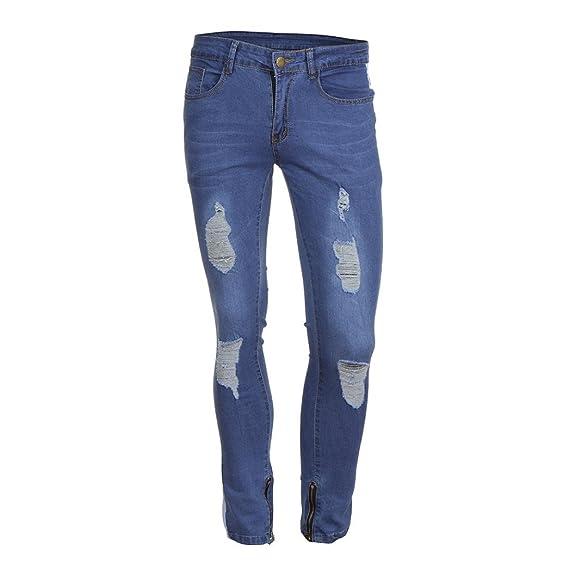 Fermeture Grande Taille Éclair Aimee7 Jeans Hommes Fit Slim Mince deWQrCxoB
