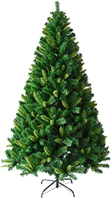 YONGMEI Christmas - 1.5 Pine Needles Christmas Tree Package Luxury Christmas Decoration (Color : Multi-Colored)