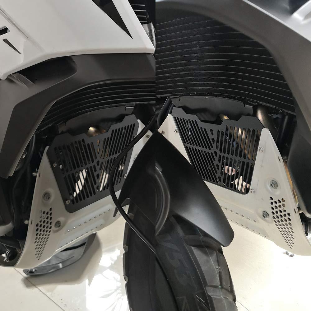 790 Adventure Motocicleta CNC Aluminio Placa del Pat/ín Cubierta del Motor Protector del Marco para KTM 790 Adventure R S 2019-Negro