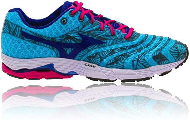 MIZUNO Wave Sayonara Zapatilla de Running Señora, Azul/Rosa, 43: Amazon.es: Zapatos y complementos