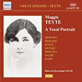 Maggie Teyte: A Vocal Portrait - Historical