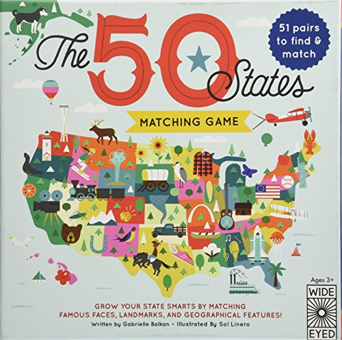 The 50 States Matching Game by Rock Point (Image #3)