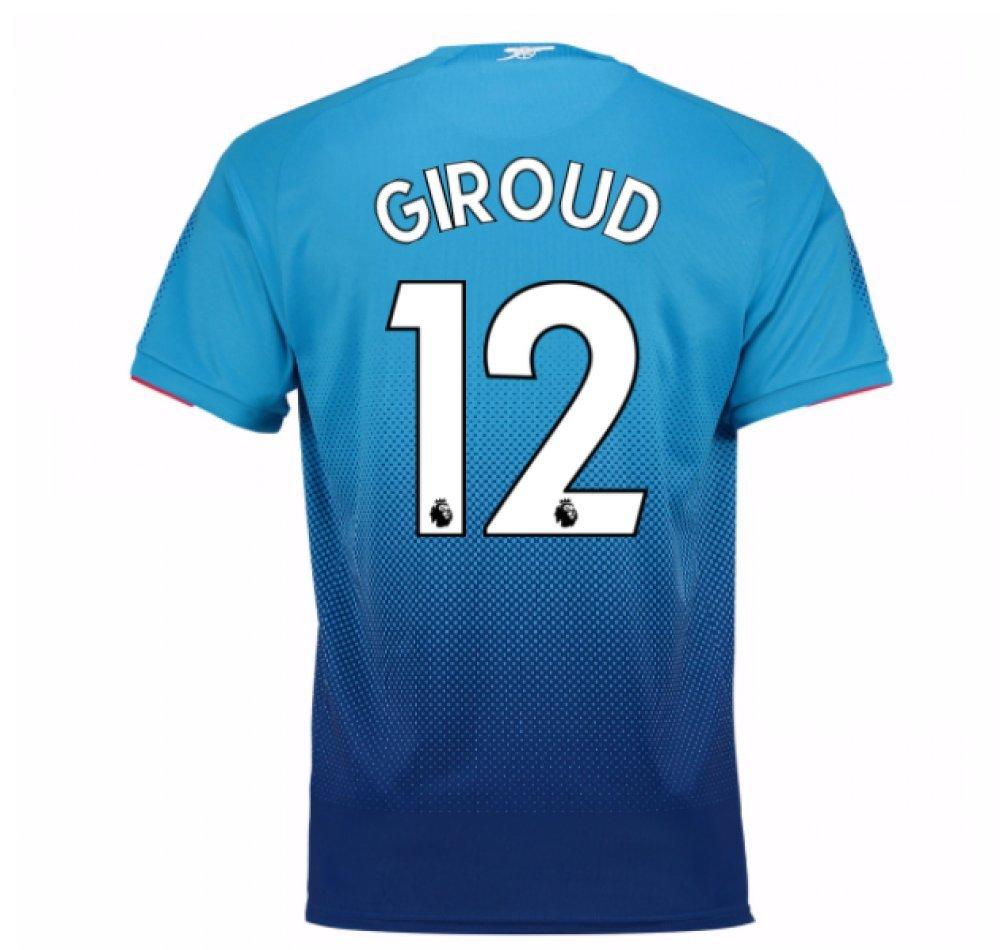 2017-2018 Arsenal Away Football Soccer T-Shirt Trikot (Olivier Giroud 12)
