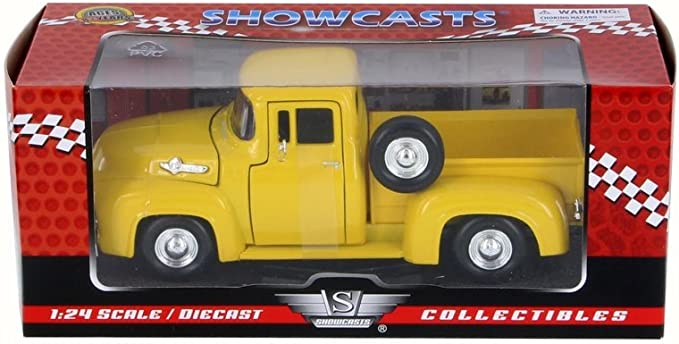 1//24 Scale Diecast Car Motor Max 79341WB 1955 Ford F-100 Pick Up truck
