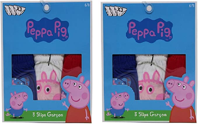Peppa Pig Calzoncillos de george para ni/ños