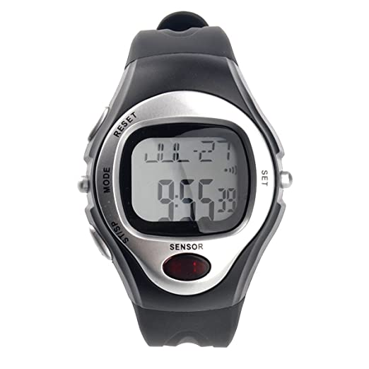 SODIAL(R) Pulsometro Cronometro Contador de Calorias Ritmo y Cardiaco LCD: Amazon.es: Salud y cuidado personal