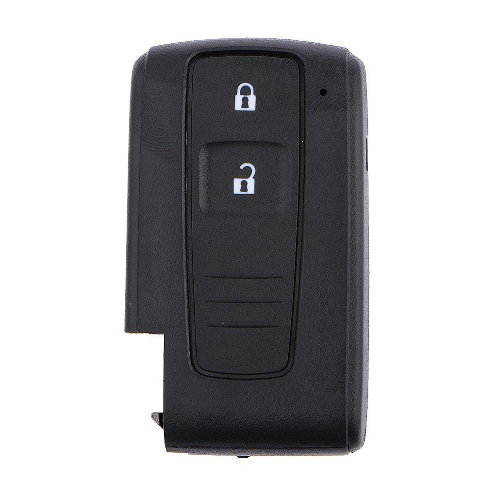 2 Boutons Télécommande Intelligente Clé Remplacement Coque Case Shell Pour Toyota Prius Generic