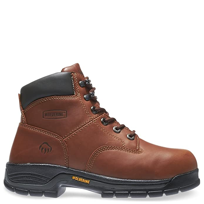 Wolverine Mens Harrison 6u0022 Soft Toe Work Boot