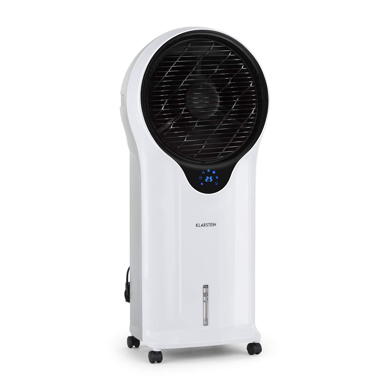 enfr/ía ventila humidifica /• 110W /• 5,5L /• Oscilador /• Movilidad 360/º /• Asas Laterales /• 3 Niveles de Intensidad /&bul Klarstein Whirlwind /• Enfriador port/átil /• Ventilador refrescante /• 3-EN-1