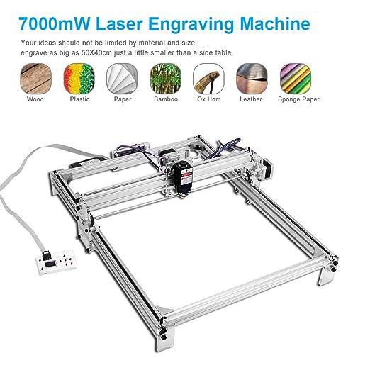 TOPQSC 7000MW Kit de máquina de grabado láser CNC, impresora ...