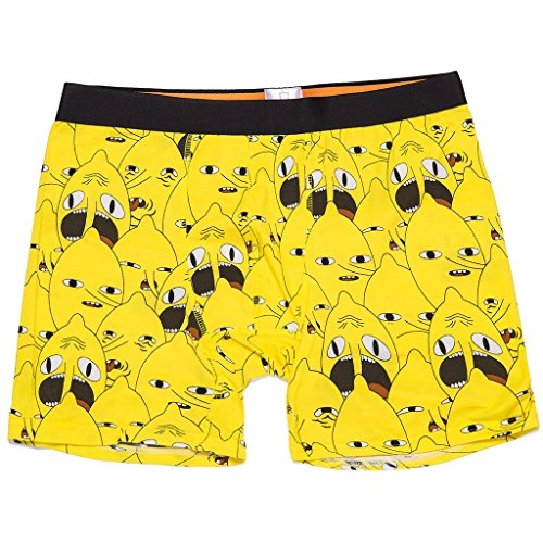 Loot Crate Adventure Time Lemongrab Underwear Boxer Briefs Exclusive (Large) (Best Boxers Of All Time)