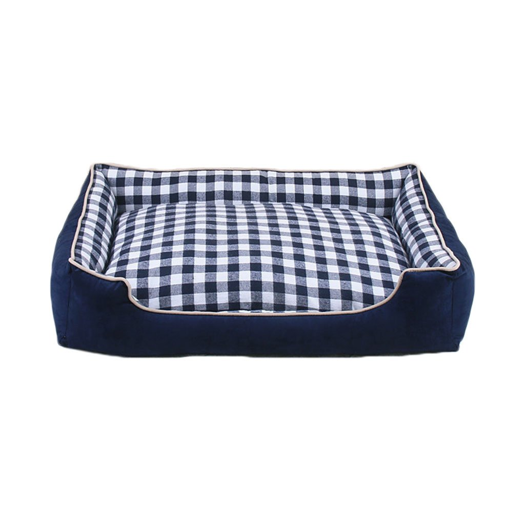 C XXL C XXL Moolo Pet bed printing canvas kennel four seasons universal soft and comfortable breathable waterproof non-slip durable multi-color optional A03 Dog Bed (color   C, Size   XXL)