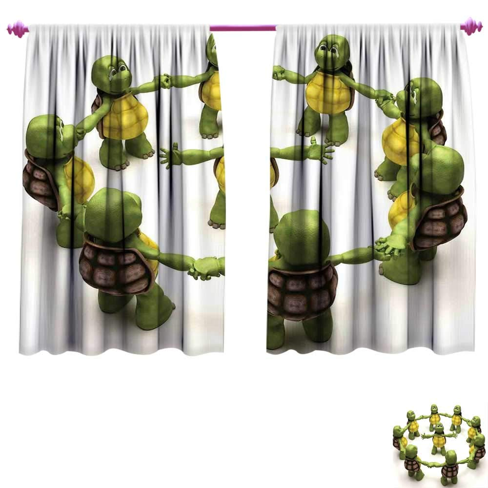 Amazon.com: Reptile Window Curtain Drape Ninja Turtles ...