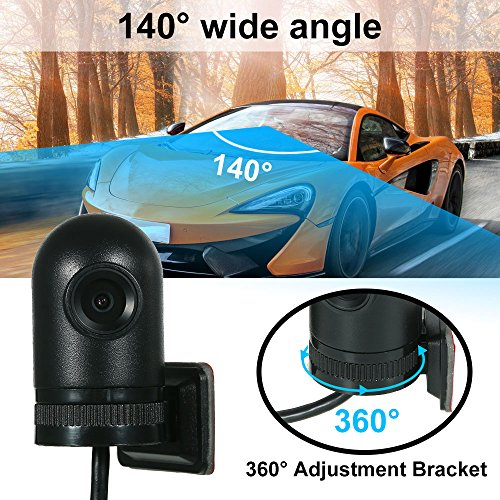 Walmeck 140 Degree Wide Angle HD 720P USB DVR Front Camera Recording Video Supporting Android 7.1 6.0 5.1 by Walmeck (Image #1)