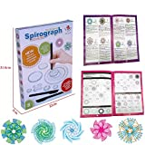 ZVIEW OEM Spirograph Set 27 Piece Classic Creative Educational Art Drawing Toys For Kids 3+ Year Increased the Kids' interests