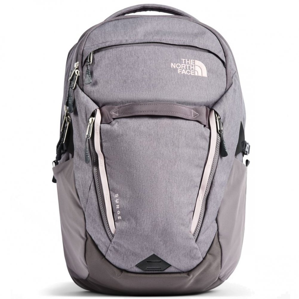 cfbb19c9d The North Face Women's Surge Backpack Rabbit Grey Light