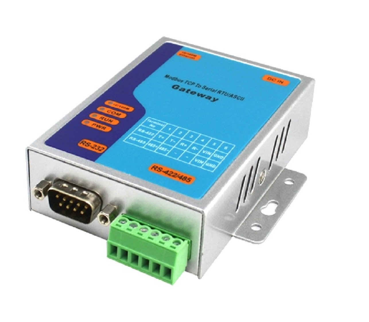 Amazon.com: Modbus TCP to RS485 with 3-in-1 RS-232/RS-422/RS-485 ...