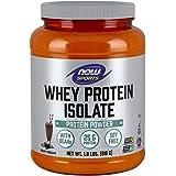 NOW Sports Whey Protein Isolate, Creamy Chocolate, 1.8-Pound