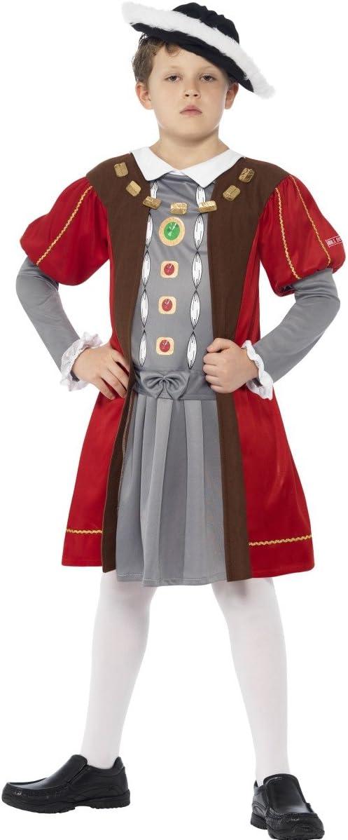 Smiffys Henry VIII - Horrible Histories - Niños Disfraz - Medium ...