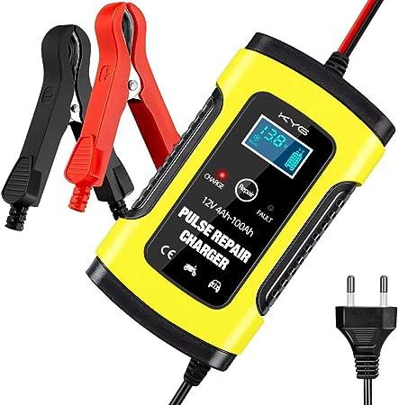 Autobatterie Ladegerät Batterieladegerät Kfz Mit Lcd Bildschirm 6a 12v Vollautomatisches Ladegerät Für Auto Und Motorrad Auto