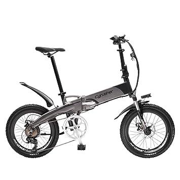 Cyrusher XF500/G660 Electric Bike 48V10 ah250 Watt Folding Bike 20 Inch 7 Speeds eBike