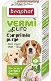Beaphar - VERMIpure, comprimés purge - chiot et petit chien (< 15kg)