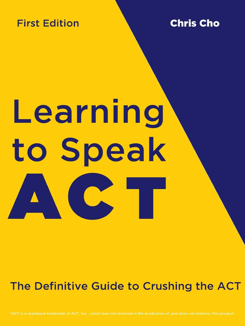Learning to speak act chris cho 9781387082216 amazon books fandeluxe Gallery