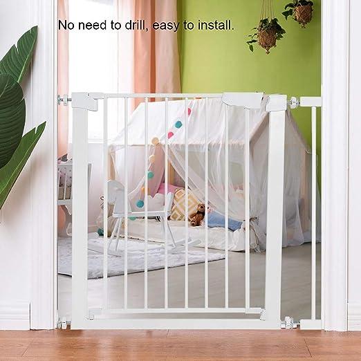 Estink Baby - Barrera de Seguridad para escaleras, Rejilla de protección para niños, Perros y Gatos, sin Agujeros ni prolongación: Amazon.es: Juguetes y juegos