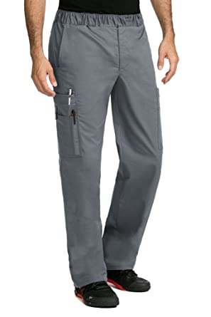 879c9741513 Amazon.com: Med Couture MC2 by Men's Red Alert Tactical 8709 Zip Fly Cargo Scrub  Pant: Clothing