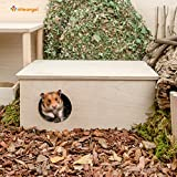 Niteangel Hamster Birch Chamber Hideout - Small