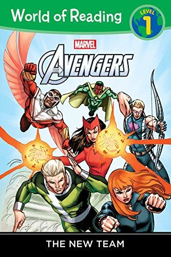 World of Reading: Avengers The New Team: Level 1 (Avengers Children)