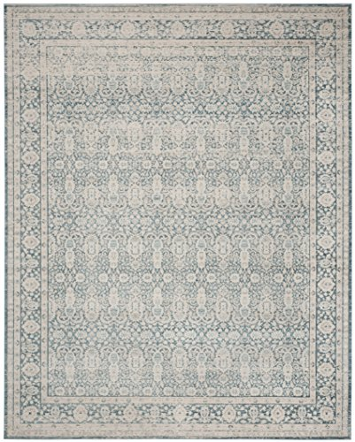 Safavieh Archive Collection ARC674B Vintage Blue and Grey Distressed Area Rug (8' x 10')