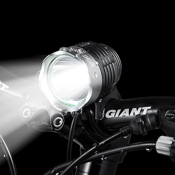 2 LED Lights For Bike Bicycle Night Night Body Silicone Lighthouse mtb light