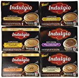72 Count Indulgio Single Serve Brew Cups for Keurig K-cup Brewers (Variety Pack #1)
