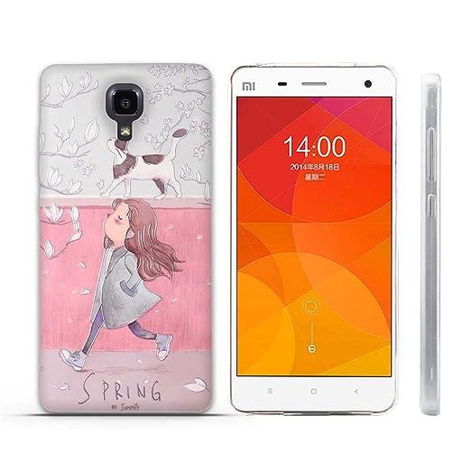 7 opinioni per Xiaomi Mi4 Cover, Fubaoda Estetico 3D Rilievo UltraSlim TPU Skin Cover