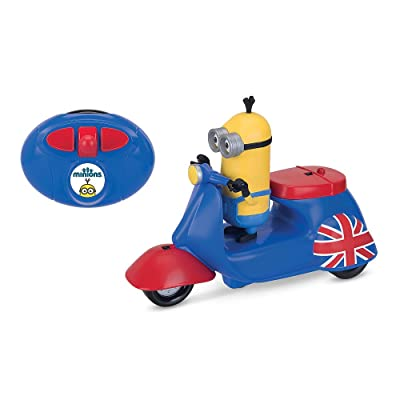 Minions Movie Infrared Remote Control Scooter with Kevin Figure: Toys & Games