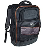 Backpack, Electrician Tool Bag, Tradesman Pro Organizer, 25 Pockets, Laptop Compartment Klein Tools 55439BPTB