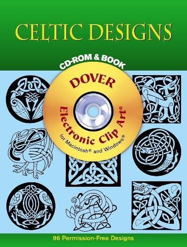 Celtic Designs CD-ROM and Book (Dover Electronic Clip ()