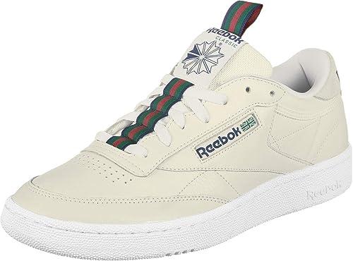 reebok classic club c 85 lace baskets basses