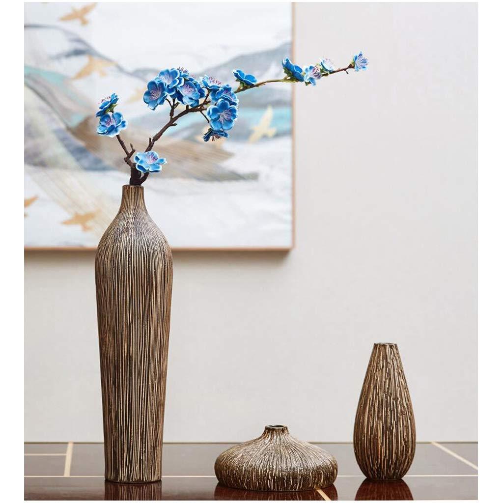 ヴィンテージ花瓶リビングルーム現代のシンプルな家の装飾の装飾品ドライフラワーテレビのキャビネットの家具 (サイズ さいず : B) B  B07RPFNLRB