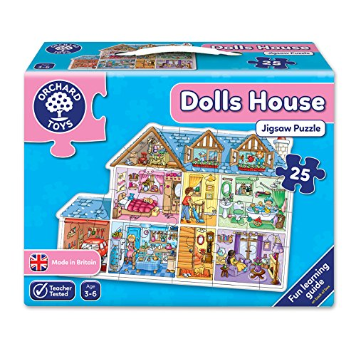 Orchard Toys Doll House Floor Puzzle (25 ()