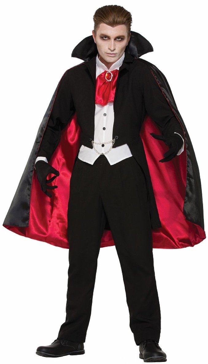Forum Men's The Count Costume, Multi/Color, One Size