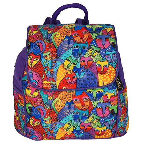 Laurel Burch Feline Tribe Day Pack Backpack Purse